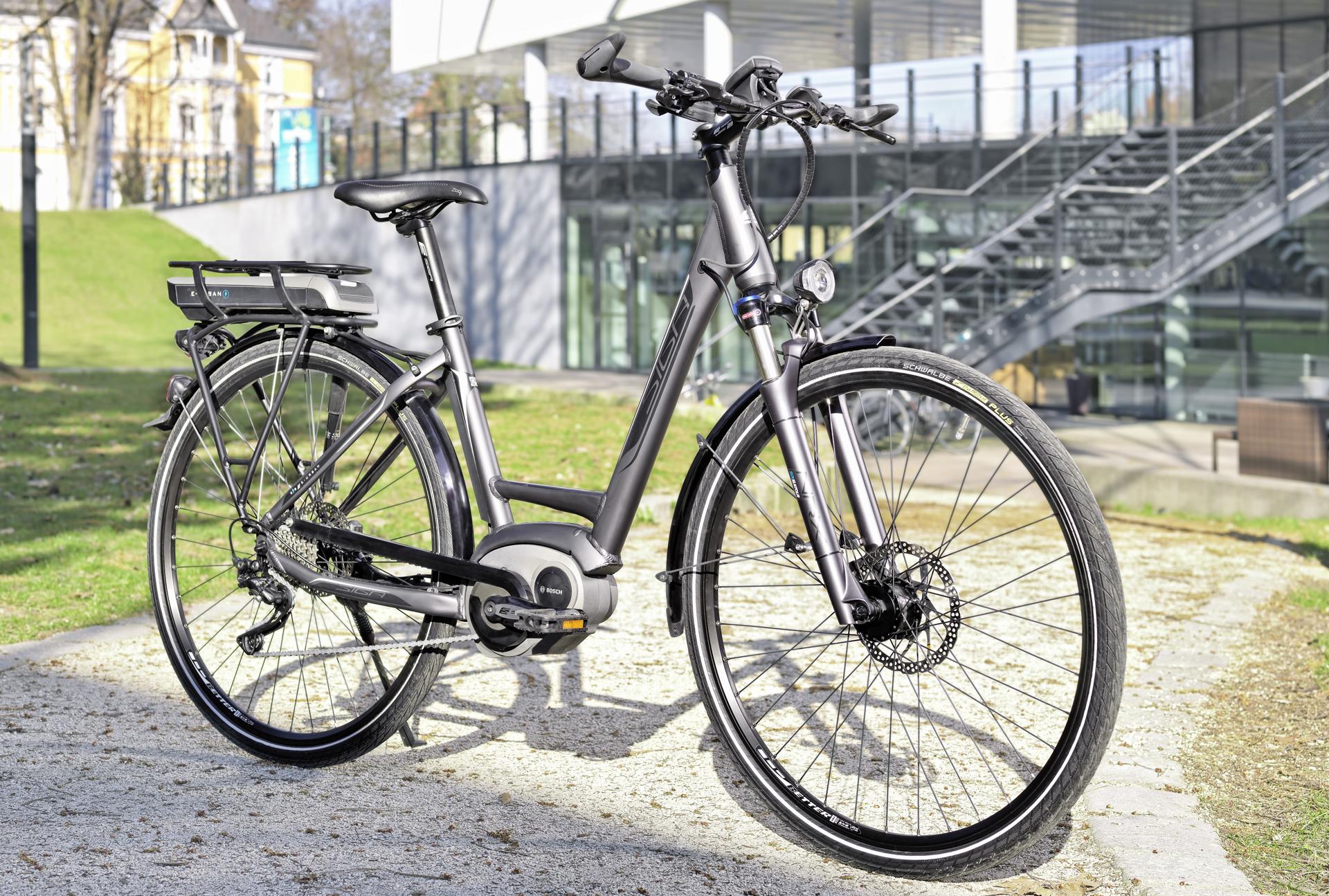 E Bike Komfort
